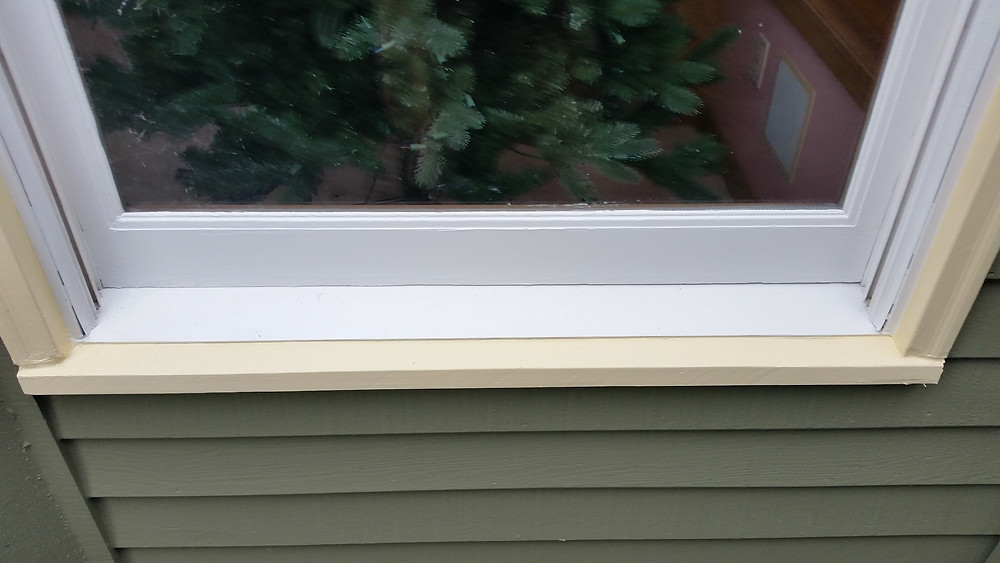 After relpacing rotted sill