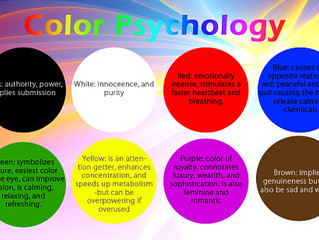 Color Psychology for rooms in your home