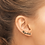 Thumbnail: Majulah Singapura Silver Earring Studs