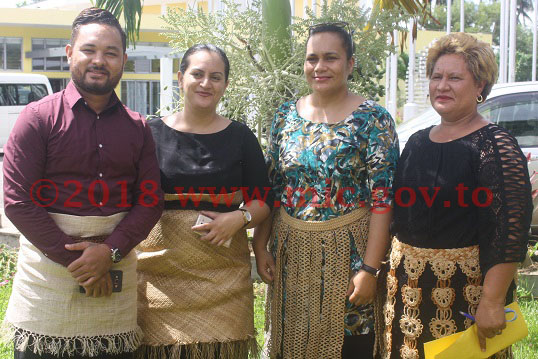tonga local government staff