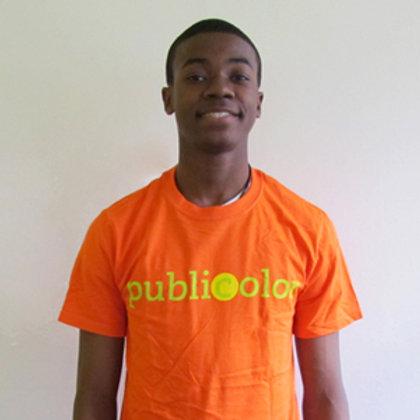 Publicolor Adult T-Shirt - Orange