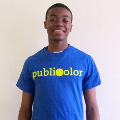 Publicolor Adult T-Shirt - Blue
