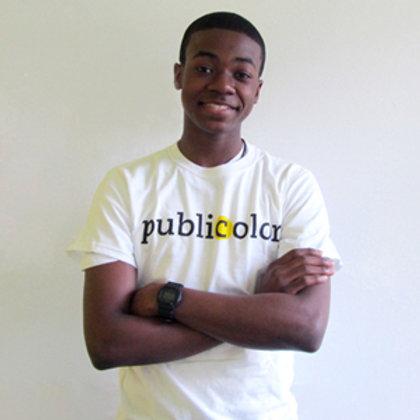 Publicolor Adult T-Shirt - White