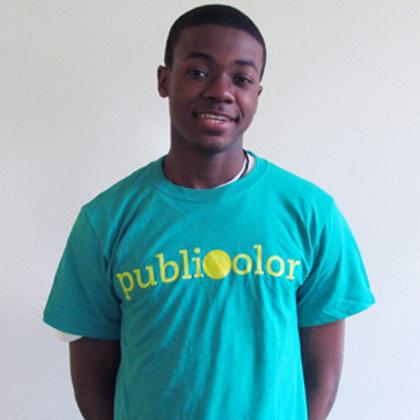 Publicolor Adult T-Shirt - Teal