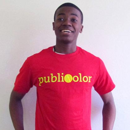 Publicolor Adult T-Shirt - Red