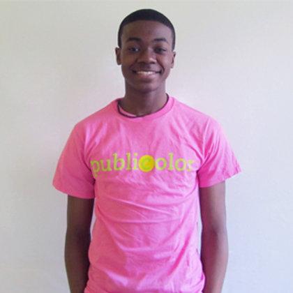 Publicolor Adult T-Shirt - Pink