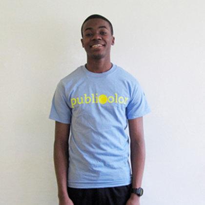 Publicolor Adult T-Shirt - Periwinkle