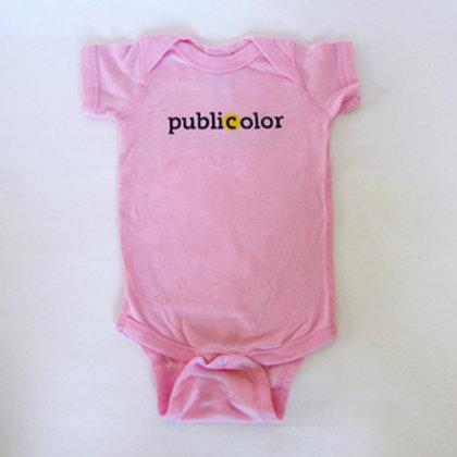 Publicolor Onesies - Pink