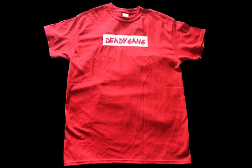 DEADYGANG TEE RED