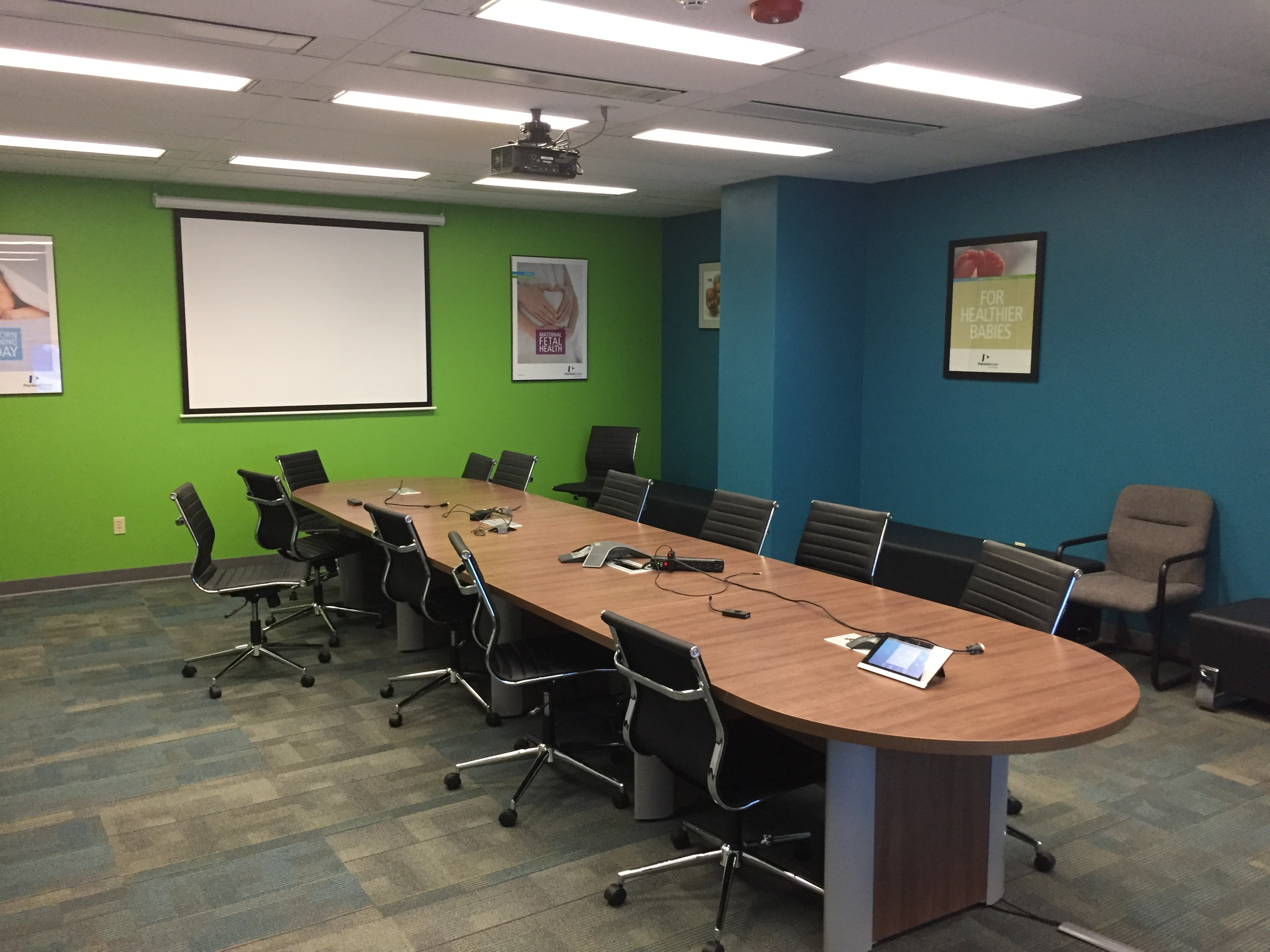 Complementary Conference Rooms