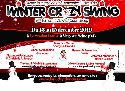 Affiche Winter Crazy Swing 8 - 7 couples
