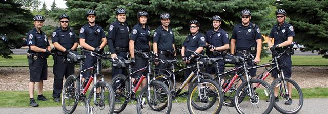 Bonneville Sheriff's Bicycle Patrol