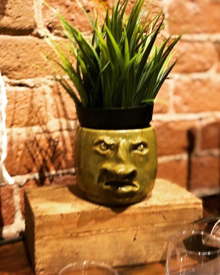 Grumpy Face Coffee Cup