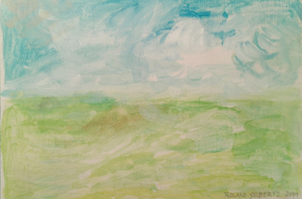 The waves of all The Netherlands, 31 cm x 22 cm