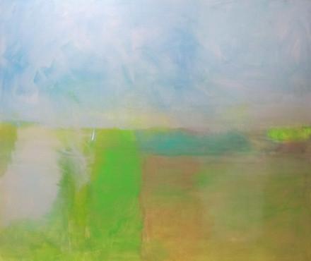 Coastal views, 1.8m x 1.76m, Sold