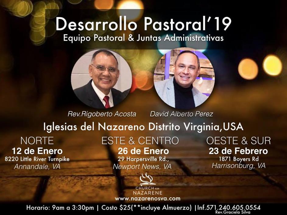 Desarrollo Pastoral Conferencias