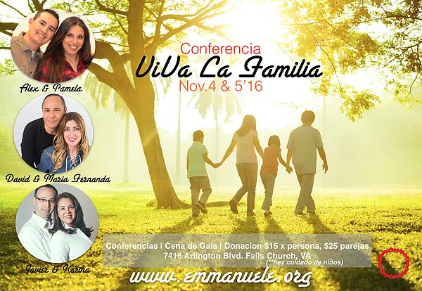 Viva la Familia Conferencia Familiar