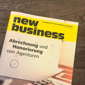 Die Presse über hempfprigge*     Danke an die new-business!