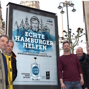 hempfprigge* entwickelt die Kampagne Hamburgsmildeseite.de für LUV&LEE Gin