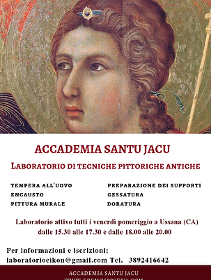 Laboratorio di tecniche pittoriche antic