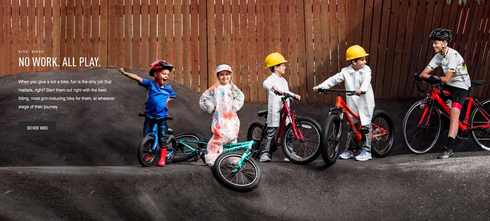 Nos vélos enfants