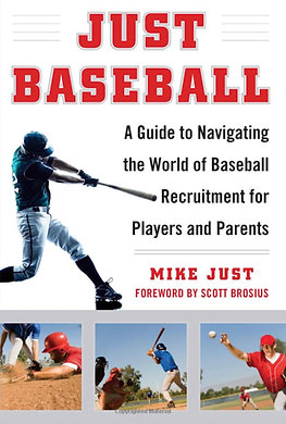 """JUST BASEBALL"" by Mike Just - Signed & Personalized Hardcover"