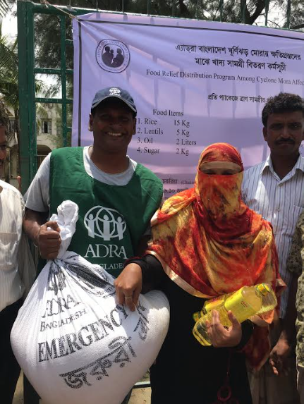 Emergency Relief to Cyclone Victims