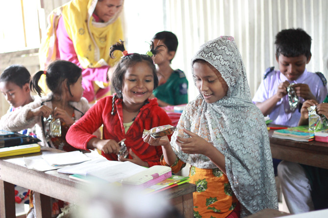 "ADRA Bangladesh Launches Distribution of Nutritious ""Euglena Biscuits"" at TCEP"