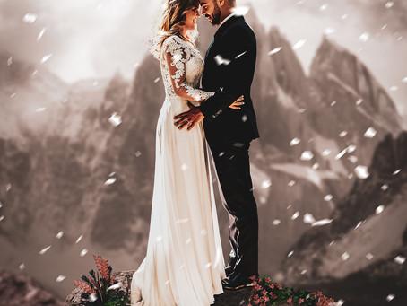 Comment réussir son mariage en hiver?