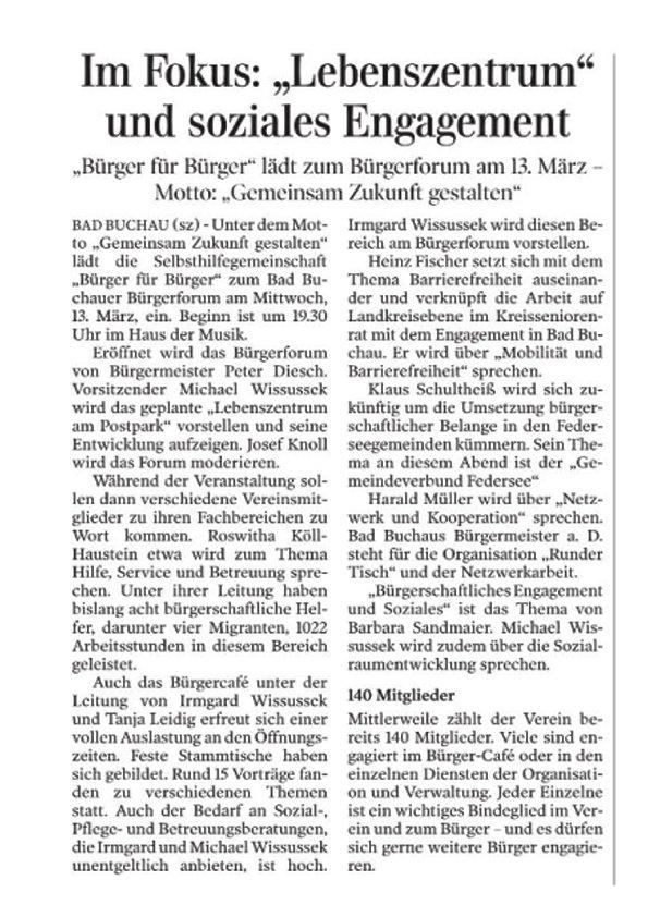 2019-03-09 SZ Lebenszentrum Bad Buchau1