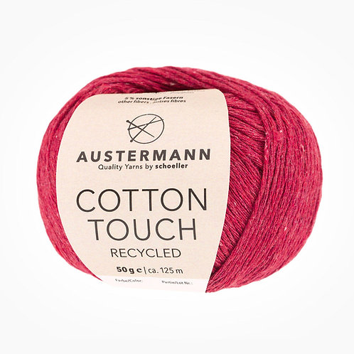 Austermann Cotton Touch Recycled 03 rot