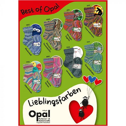 Best of Opal 4-fach Sockenwolle