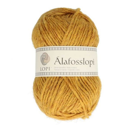 "Alafosslopi ""bulky"" Farbe 9964 ockergelb"