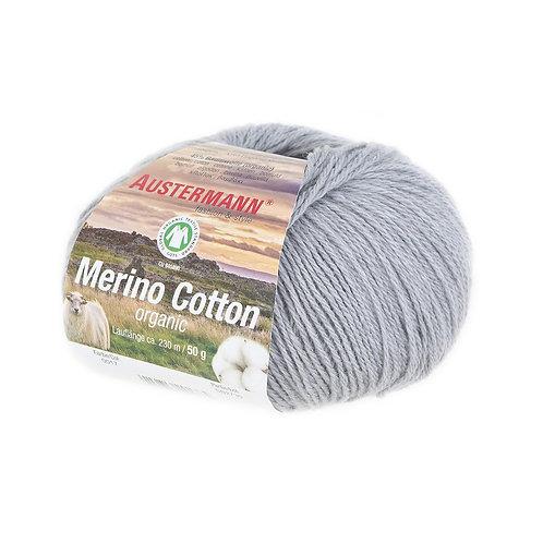 Austermann Merino Cotton 017 hellgrau
