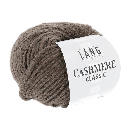 Lang Yarns Cashmere Classic 0067 braun melange
