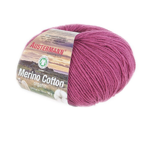 Austermann Merino Cotton 007 fuchsie