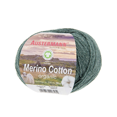 Austermann Merino Cotton 023 tanne