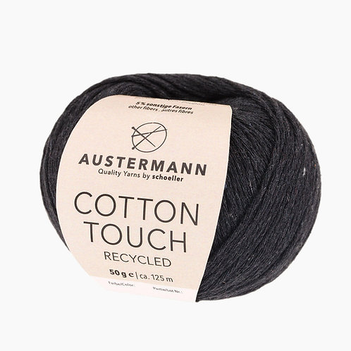 Austermann Cotton Touch Recycled 02 schwarz