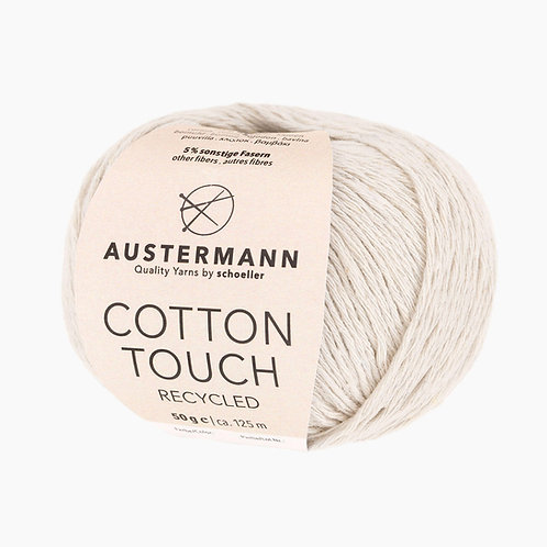 Austermann Cotton Touch Recycled 01 natur