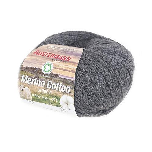 Austermann Merino Cotton 018 dunkelgrau
