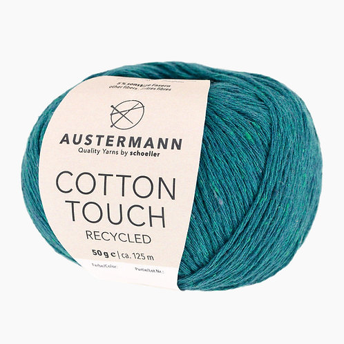 Austermann Cotton Touch Recycled 10 lagune