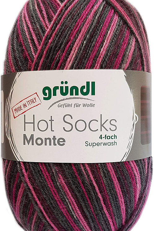 Gründl Hot Socks Monte 4-fach