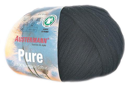 Austermann Pure GOTS 02 schwarz