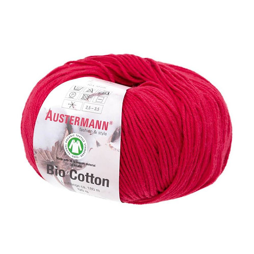 Austermann Bio Cotton 03 rot