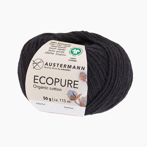 Austermann Ecopure GOTS 02 schwarz