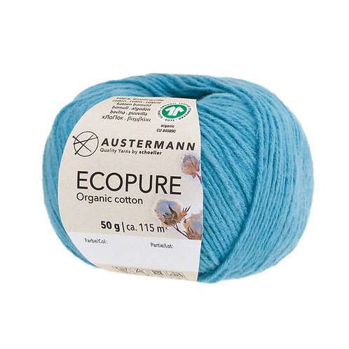 Austermann Ecopure GOTS 12 türkis