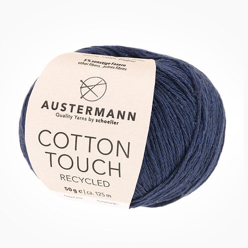 Austermann Cotton Touch Recycled 04 indigo
