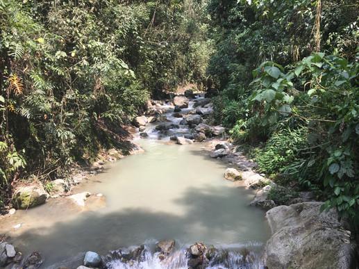 waterfalls at viaductor