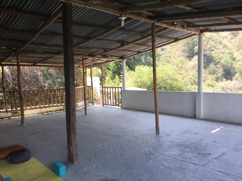 roof top yoga shala