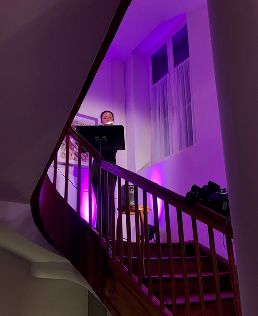 Treppenhauskonzert